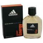 Adidas Deep Energy For Men By Addidas - 3.4 Oz. EDT